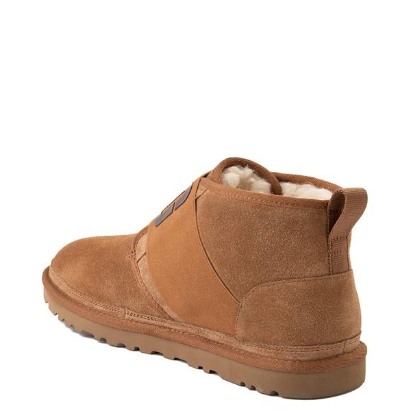 alternate view Mens UGG® Neumel Graphic Casual Shoe - ChestnutALT2