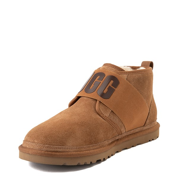 alternate view Mens UGG® Neumel Graphic Casual Shoe - ChestnutALT3