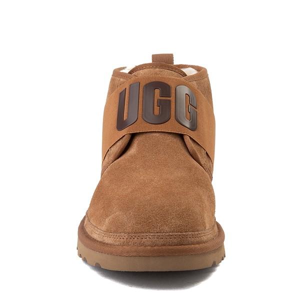 alternate view Mens UGG® Neumel Graphic Casual Shoe - ChestnutALT4