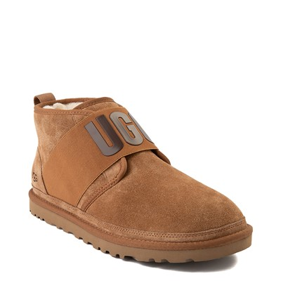 Alternate view of Mens UGG® Neumel Graphic Casual Shoe - Chestnut