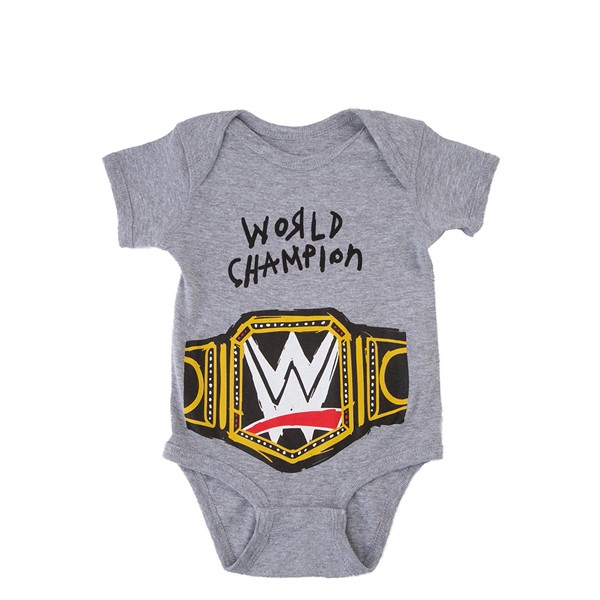WWE World Champion Snap Tee - Baby - Gray