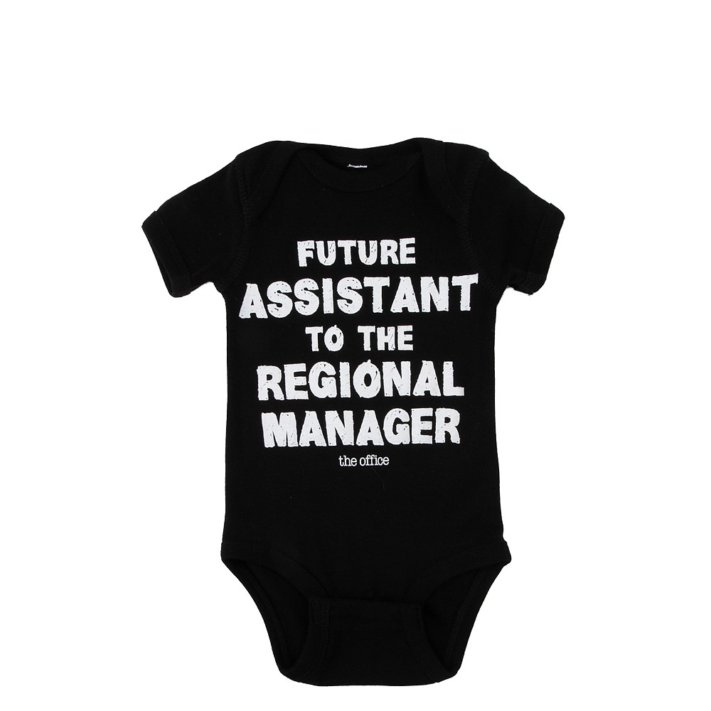 The Office Snap Tee - Baby - Black