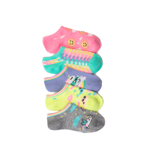 Unicorn Glow Footies 5 Pack - Toddler - Multicolor