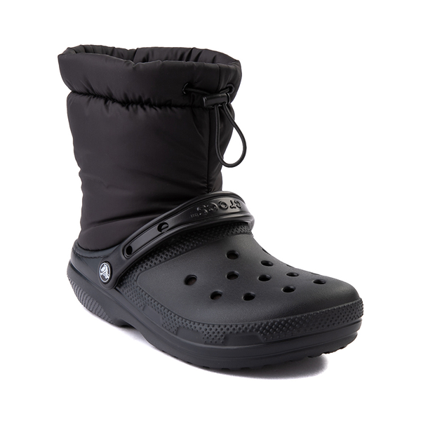 alternate view Crocs Classic Fuzz-Lined Neo Puff Boot - BlackALT5