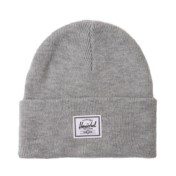 Main view of Herschel Supply Co. Elmer Beanie - Heather Gray