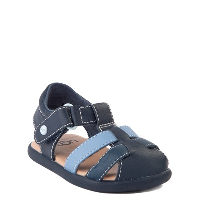 Alternate view of UGG® Kolding Sandal - Baby / Toddler - Navy