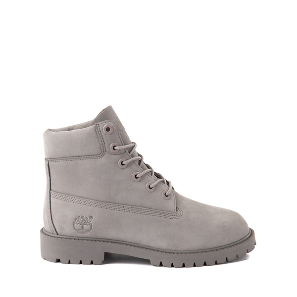 "Timberland 6"" Classic Boot - Big Kid - Gray Monochrome"