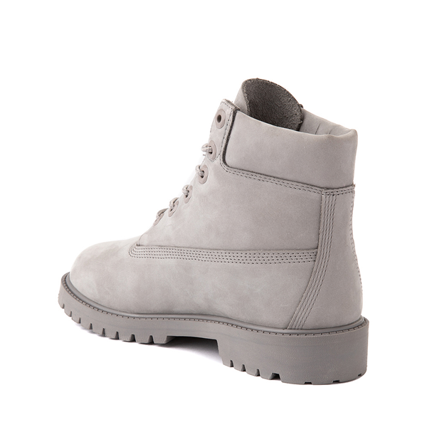 "alternate view Timberland 6"" Classic Boot - Big Kid - Gray MonochromeALT1"