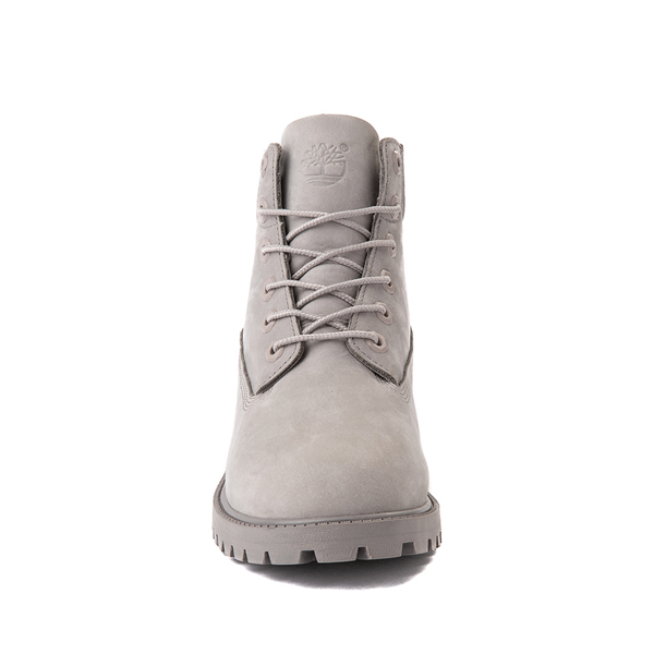 "alternate view Timberland 6"" Classic Boot - Big Kid - Gray MonochromeALT4"