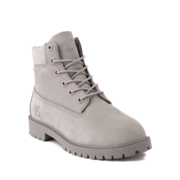"alternate view Timberland 6"" Classic Boot - Big Kid - Gray MonochromeALT5"