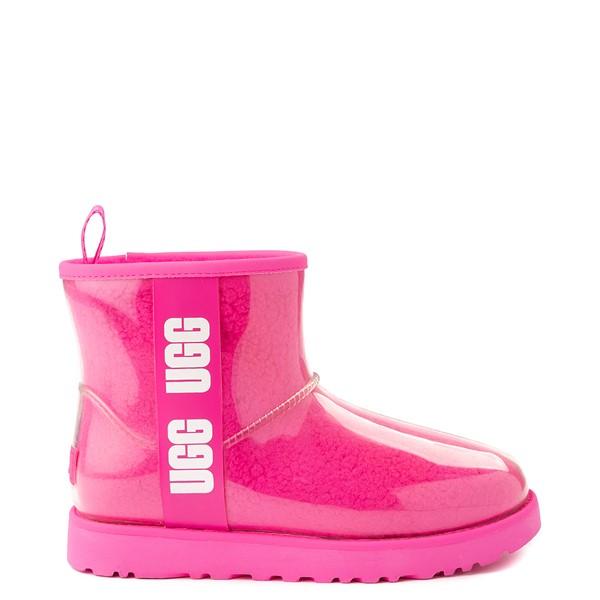 Womens UGG® Classic Clear Mini II Boot - Rock Rose