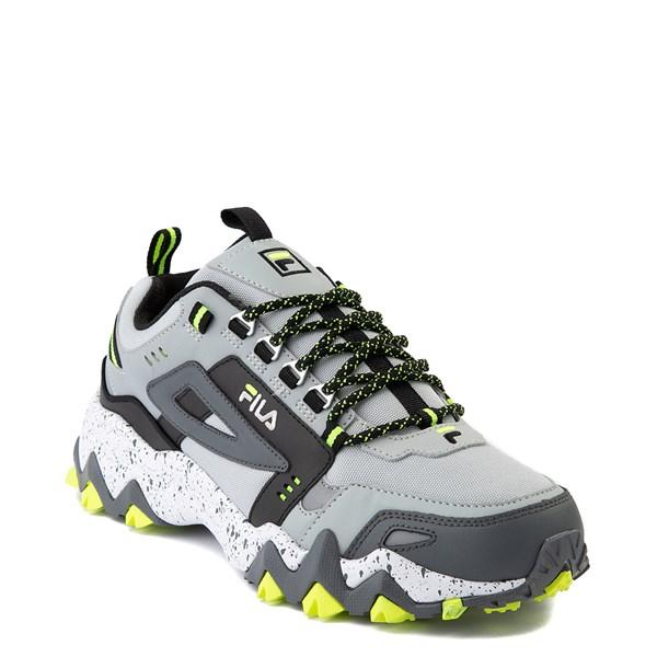 alternate view Mens Fila Oakmont TR Athletic Shoe - Highrise / Castlerock / Safety YellowALT1B