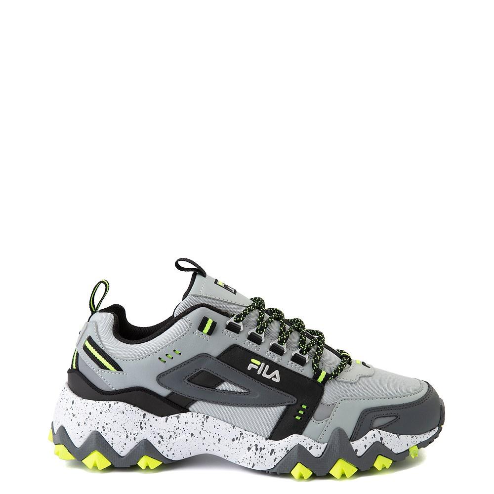 Mens Fila Oakmont TR Athletic Shoe - Highrise / Castlerock / Safety Yellow