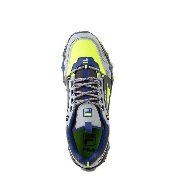 alternate view Mens Fila Oakmont TR Athletic Shoe - Safety Yellow / Dark Shadow / Mazarine BlueALT2