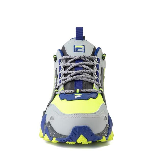 alternate view Mens Fila Oakmont TR Athletic Shoe - Safety Yellow / Dark Shadow / Mazarine BlueALT4