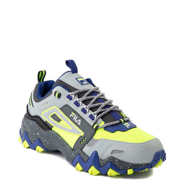 alternate view Mens Fila Oakmont TR Athletic Shoe - Safety Yellow / Dark Shadow / Mazarine BlueALT5