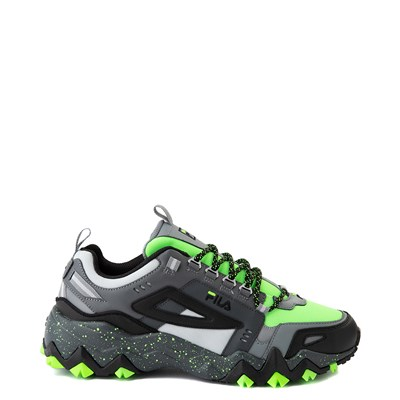 Main view of Mens Fila Oakmont TR Athletic Shoe - Green Gecko / Glacier Gray / Black