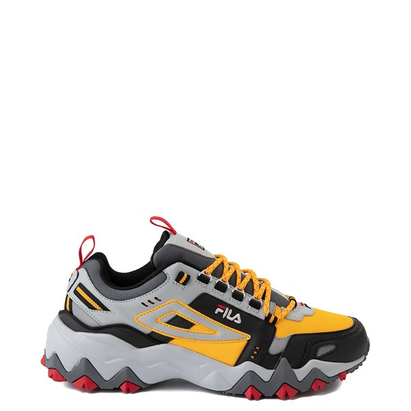 Mens Fila Oakmont TR Athletic Shoe - Citrus / Highrise / Black
