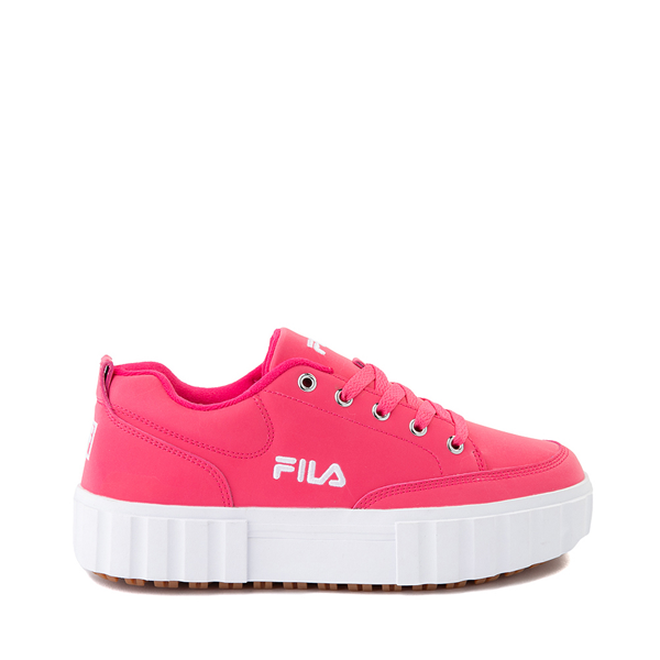 Womens Fila Sandblast Platform Athletic Shoe - Pink Glow