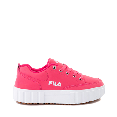 Main view of Womens Fila Sandblast Platform Athletic Shoe - Pink Glow