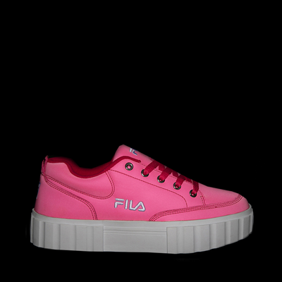 Alternate view of Womens Fila Sandblast Platform Athletic Shoe - Pink Glow