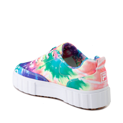 Alternate view of Womens Fila Sandblast Platform Athletic Shoe - Tie Dye