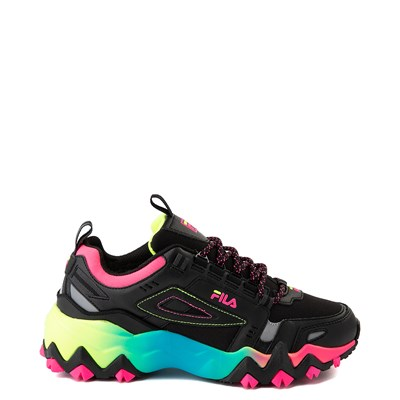 Main view of Womens Fila Oakmont TR Athletic Shoe - Black / Multi