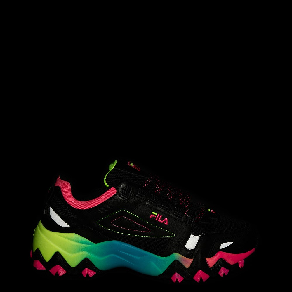 Womens Fila Oakmont TR Athletic Shoe Black Multi