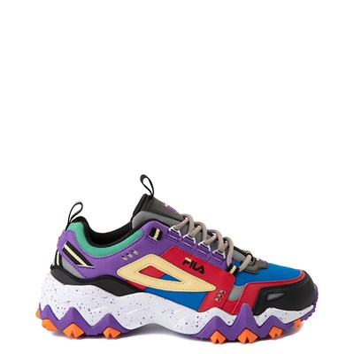 Main view of Womens Fila Oakmont TR Athletic Shoe - Electric Blue / Red / Black