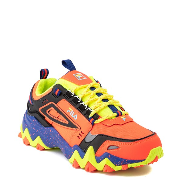 alternate view Womens Fila Oakmont TR Athletic Shoe - Fiery Coral / Mazarine Blue / BlackALT1B