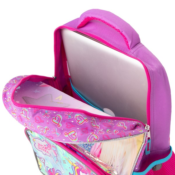 alternate view JoJo Siwa™ Be Your Star Backpack - PinkALT3