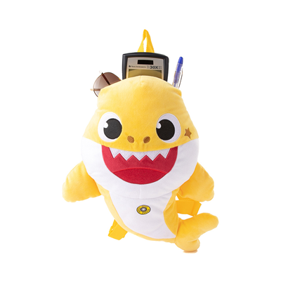 Alternate view of Baby Shark Plush Backpack - Yellow