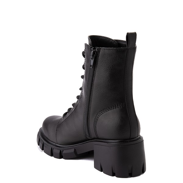 alternate view Womens MIA Marlee Combat Boot - BlackALT1