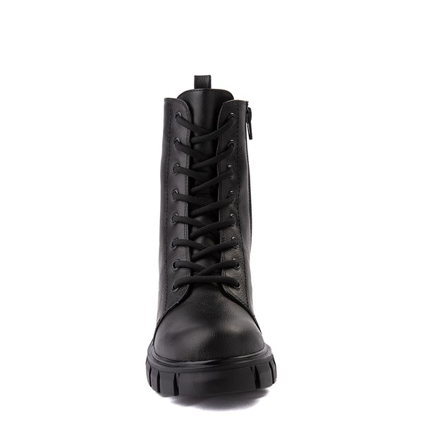 alternate view Womens MIA Marlee Combat Boot - BlackALT4