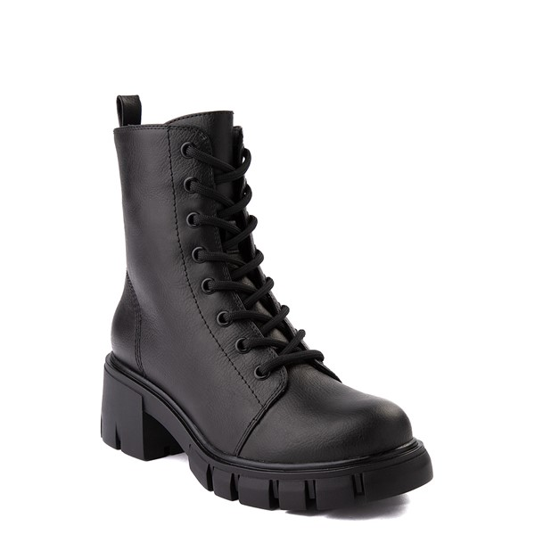 alternate view Womens MIA Marlee Combat Boot - BlackALT5