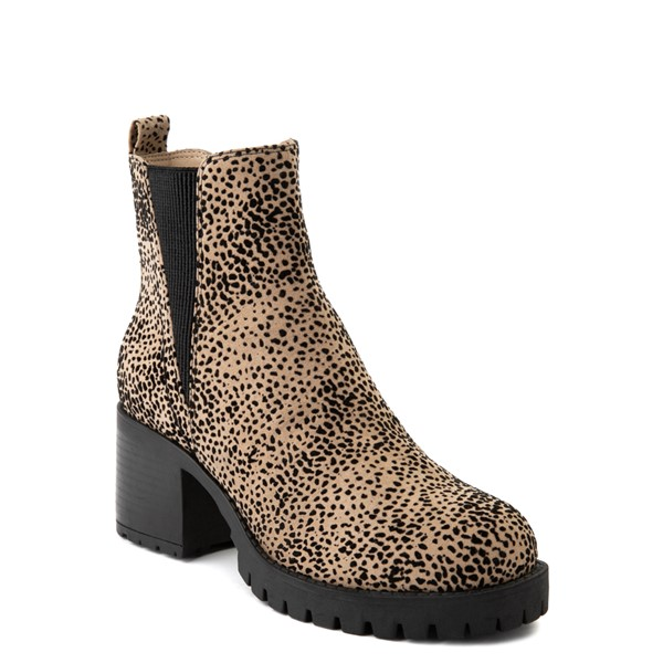alternate view Womens MIA Laren Chelsea Boot - CheetahALT5