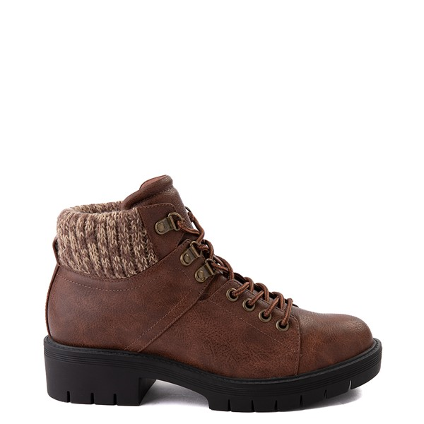 Womens MIA Marsha Hiker Boot - Cognac