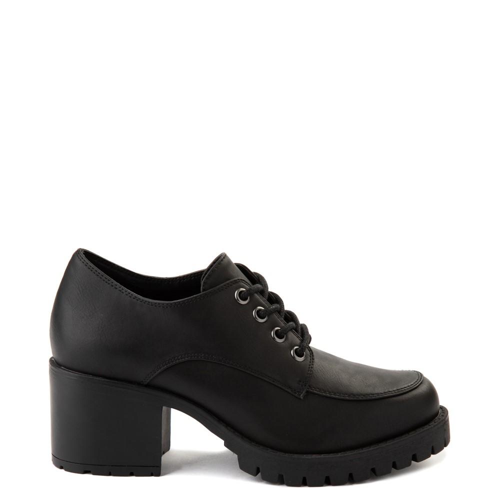 Womens MIA Vicki Platform Casual Shoe - Black