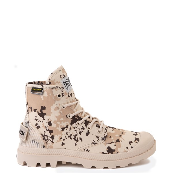 Main view of Palladium Pampa Hi Originale Boot - Beige / Camo