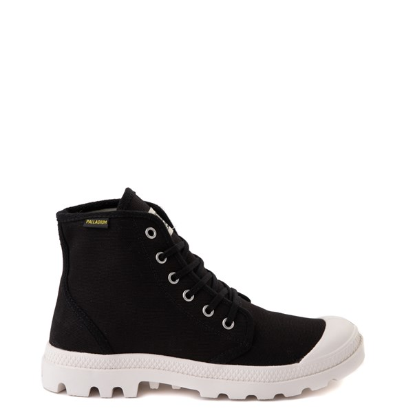 Main view of Palladium Pampa Hi Originale Boot - Black / Marshmallow