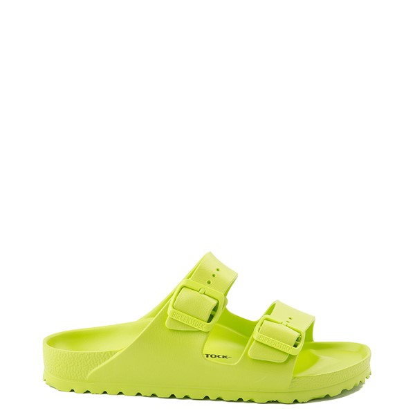 Main view of Womens Birkenstock Arizona EVA Sandal - Lime