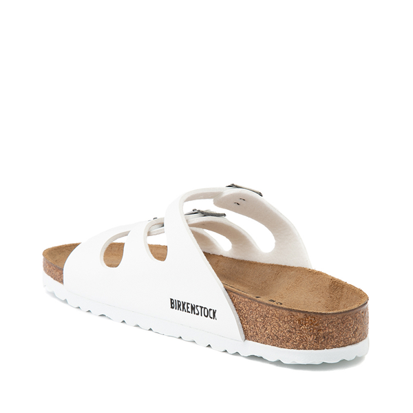 alternate view Womens Birkenstock Florida Sandal - WhiteALT1