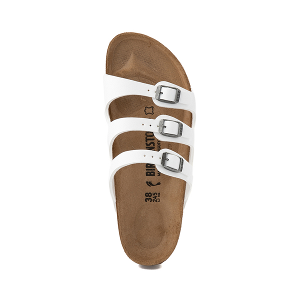 alternate view Womens Birkenstock Florida Sandal - WhiteALT2