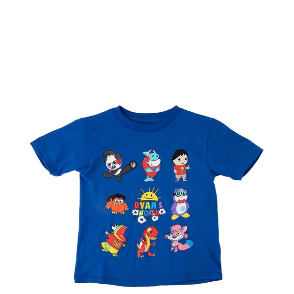 Main view of Ryan's World Tee - Toddler - Blue