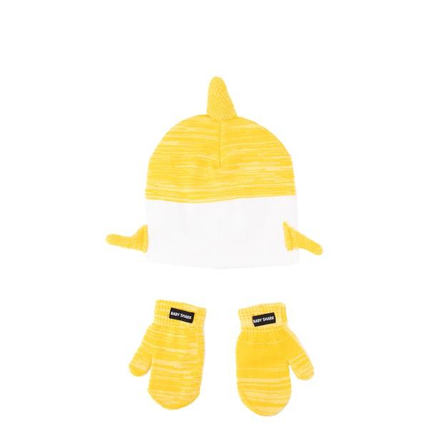 alternate view Baby Shark Beanie - Little Kid - YellowALT1