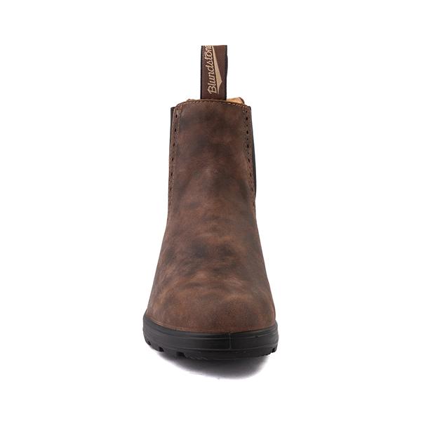alternate view Womens Blundstone High Top Chelsea Boot - Rustic BrownALT4