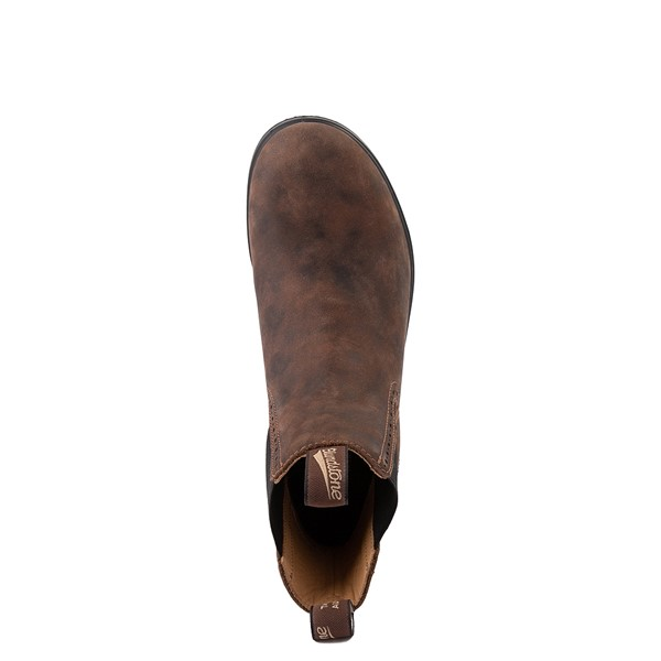 alternate view Womens Blundstone High Top Chelsea Boot - Rustic BrownALT4B