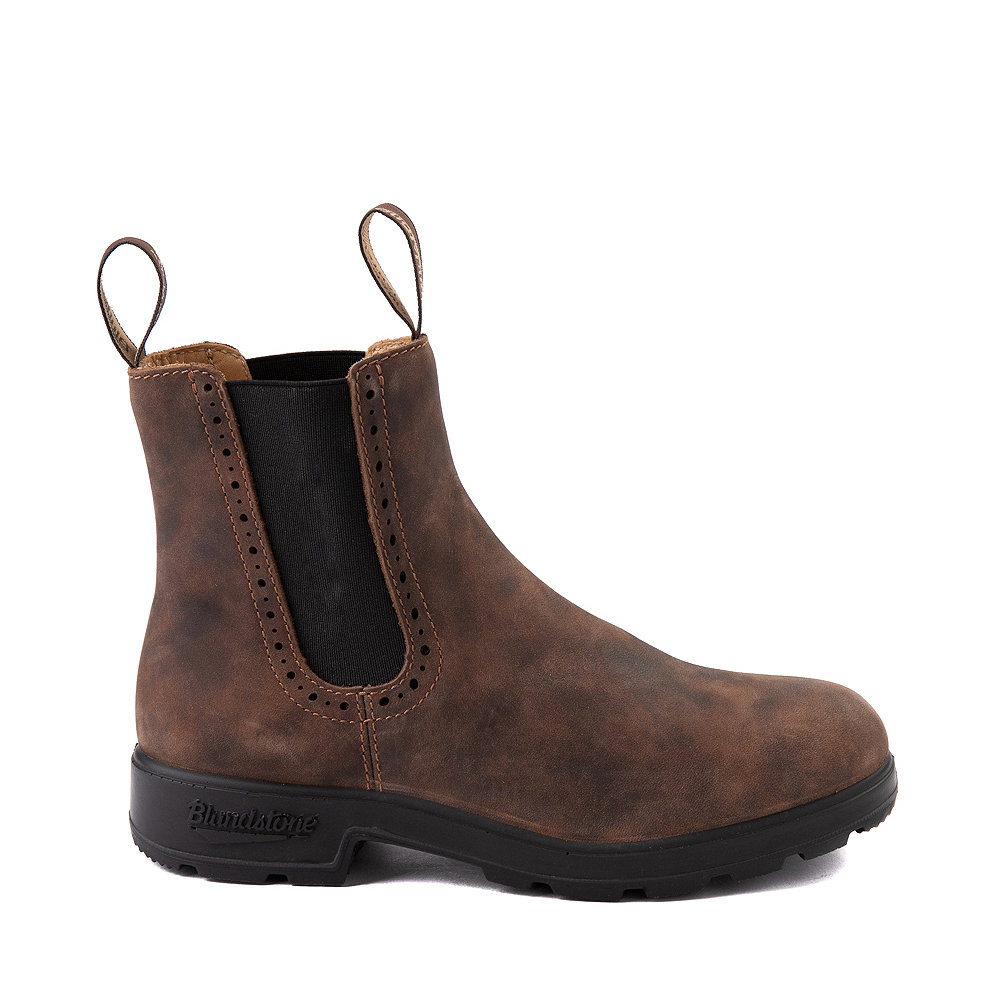Womens Blundstone High Top Chelsea Boot - Rustic Brown