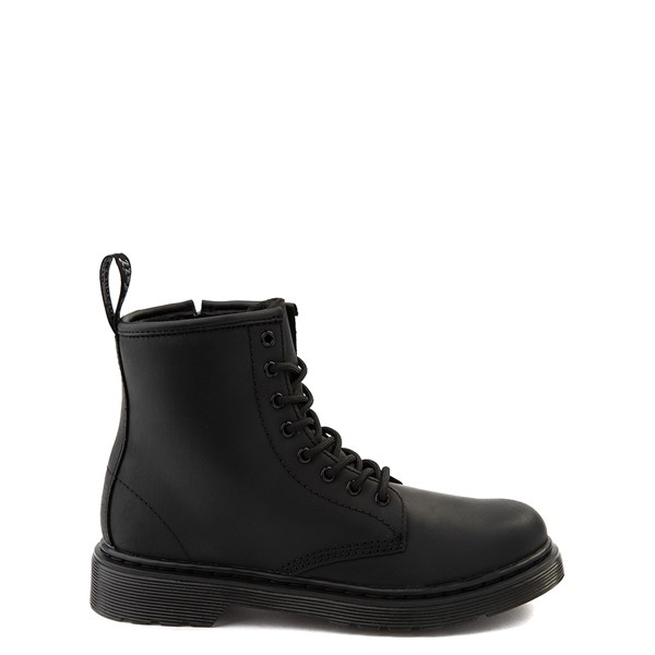 Dr. Martens 1460 8-Eye Serena Boot - Little Kid / Big Kid - Black Monochrome