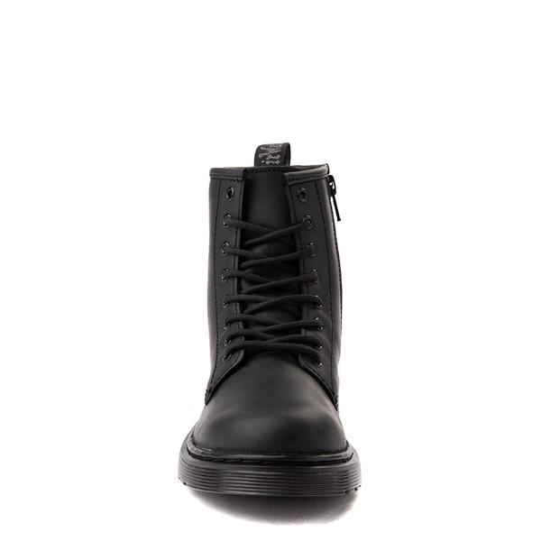 alternate view Dr. Martens 1460 8-Eye Serena Boot - Little Kid / Big Kid - Black MonochromeALT4